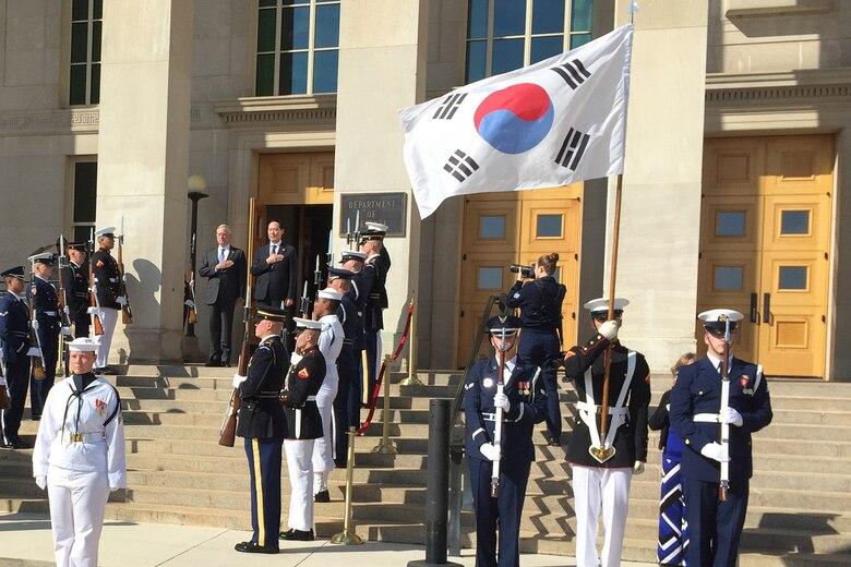 U.S., South Korean Defense Leaders Meet in Wake of Most Recent North Korean Missile Launch