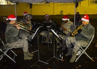 Yokota kicks off holiday season with annual Christmas tree lighting