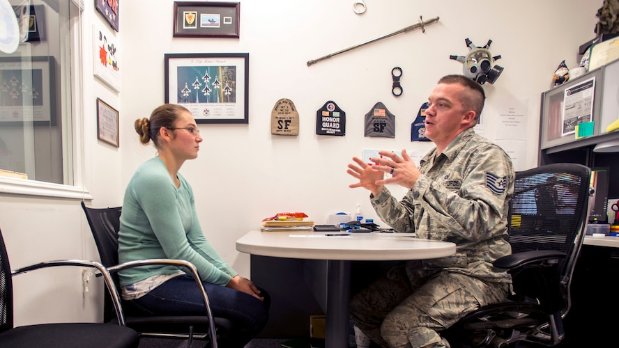 MONTHLY MISSION PARTNER: Today's Air Force recruiter