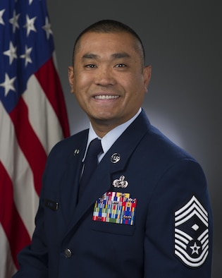 Chief Master Sgt. Reny Nunag, official photo, U.S. Air Force