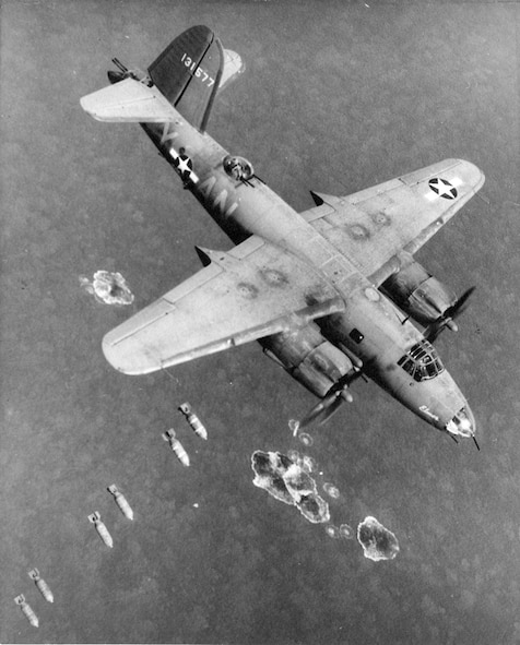 During its 21 months of combat operations, the group launched 396 combat missions.  It delivered 16,280 tons of bombs onto enemy targets. Nearly 100 of the group's aircraft were either shot down or damaged beyond repair, over 300 airmen were killed or reported missing in action and another 217 were wounded. (Courtesy photo)