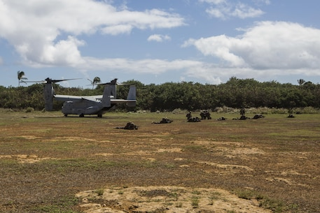 2nd Battalion, 3rd Marines conduct Tactical Recovery of Aircraft and Personnel training