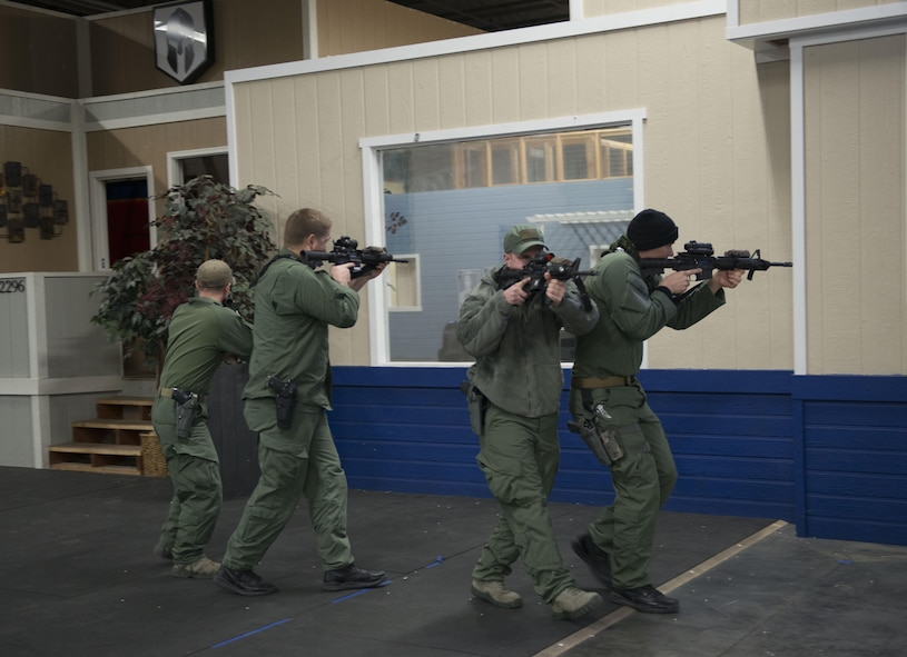 At the end of the training course, the team will be recognized as a Special Weapons and Tactics team, also known as S.W.A.T.