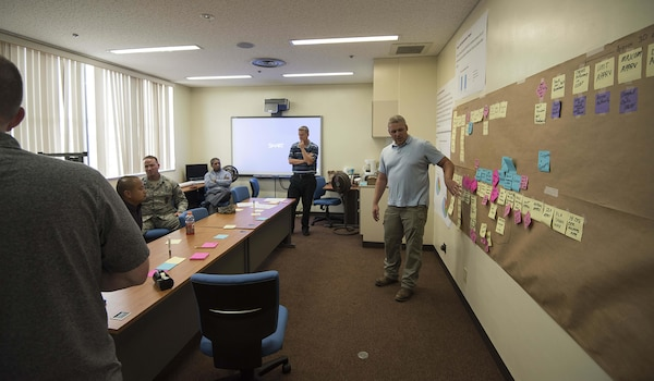 Never stop improving; Team Kadena conducts CPI Course