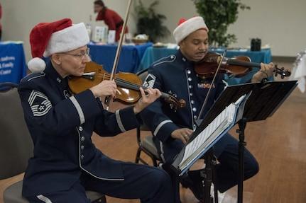 USAF Band Violinists