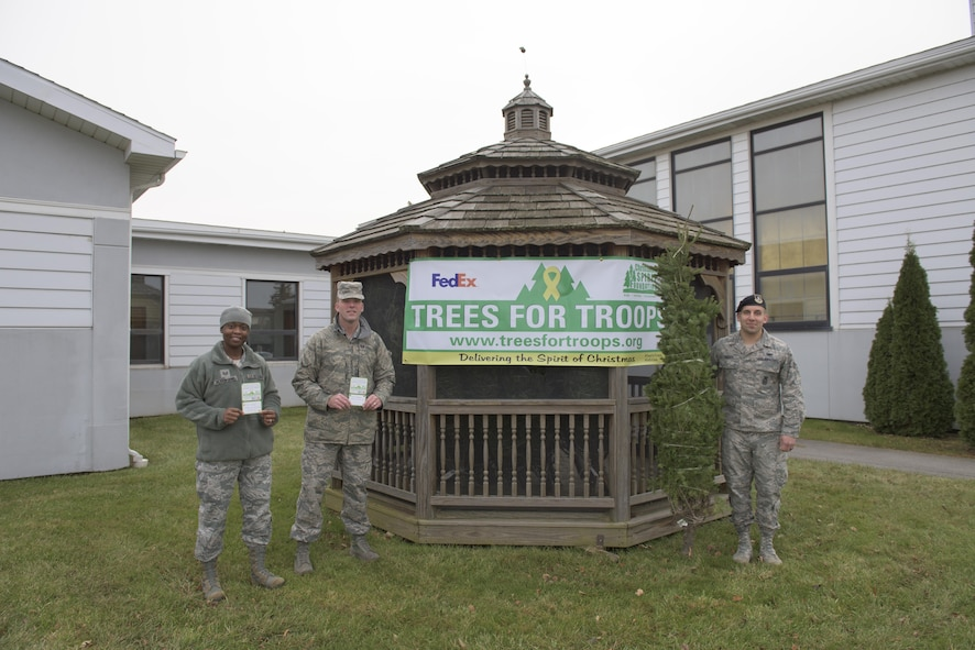 Trees donated for troops in need