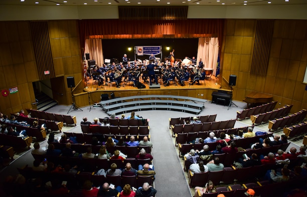 ANG Band of the Northeast performs Christmas Festival