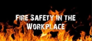Fire safety graphic