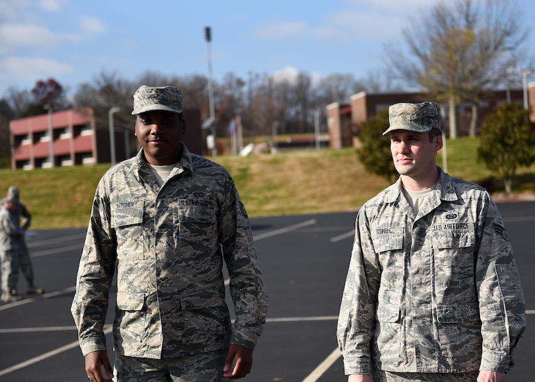 Airman Leadership School outside