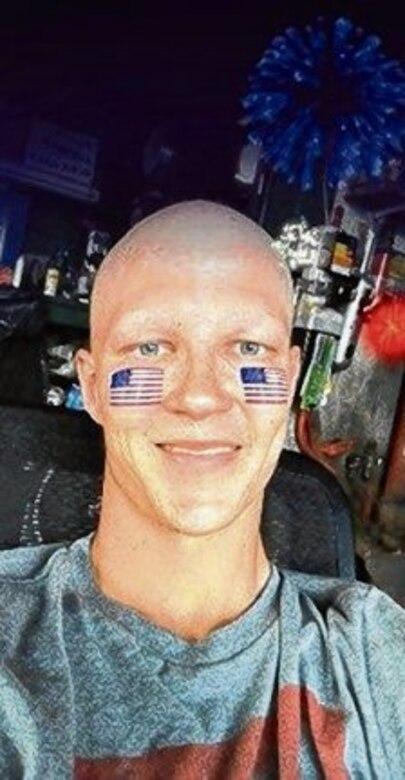 SrA Brandon Yuhaniak fights cancer.