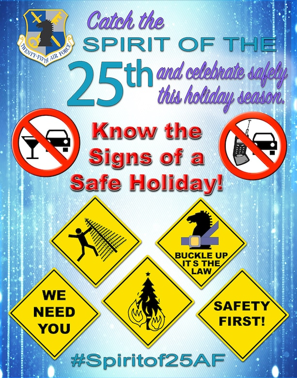 Spirit of the 25th Air Force Safety Campaign
