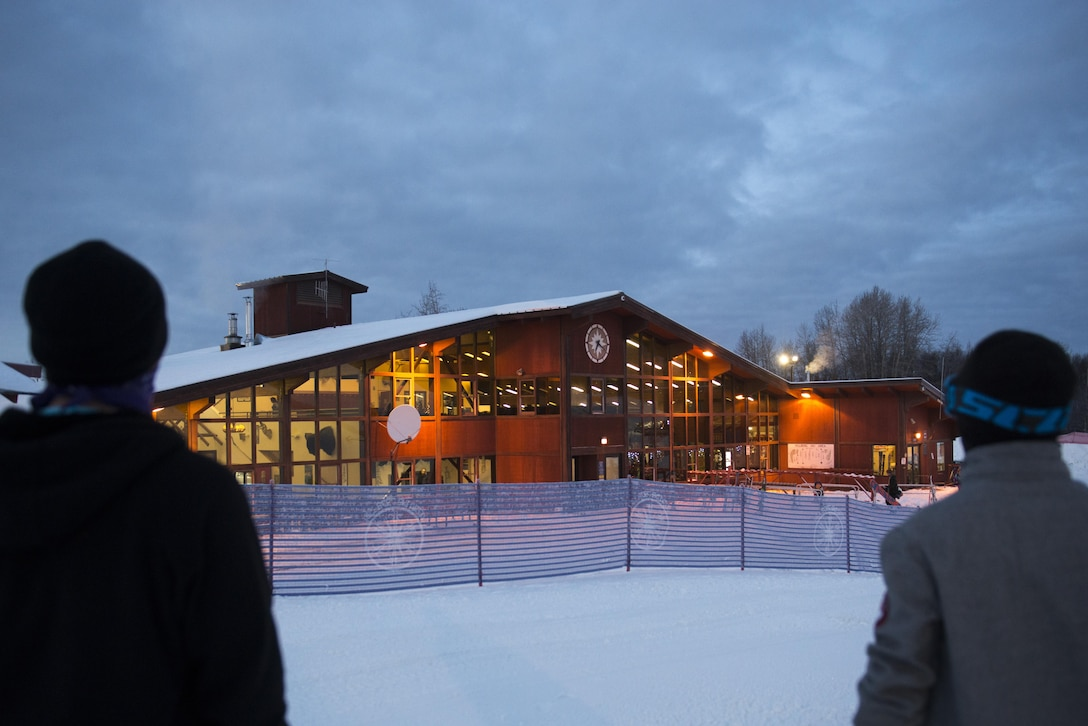 The Hillberg Ski Area opens its doors Dec. 1, 2017 at Joint Base Elmendorf-Richardson, Alaska, for patrons with base access to ski, snowboard and tube. Hillberg created their own snow and provided skiers and snowboarders a dual chairlift, sledding tow and handle tow.