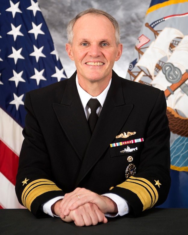 Commander, U.S. 7th Fleet, Vice Adm. Phillip G. Sawyer