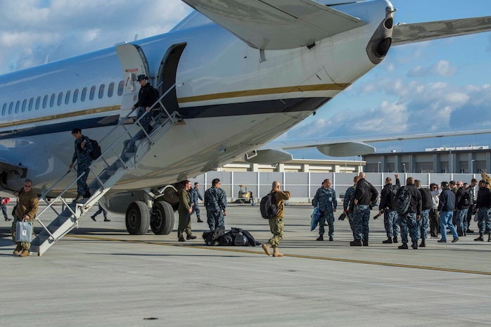 MCAS Iwakuni welcomes US Navy squadrons