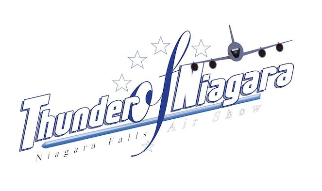 2018 Thunder of Niagara Air Show logo.