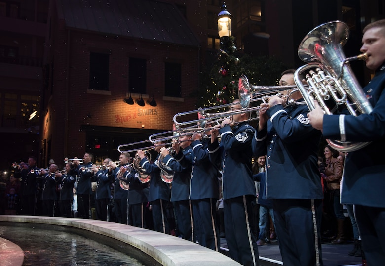 U.S. Air Force Band brass