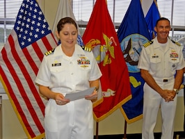 Naval Supply Corps officer takes command of DLA Troop Support Pacific