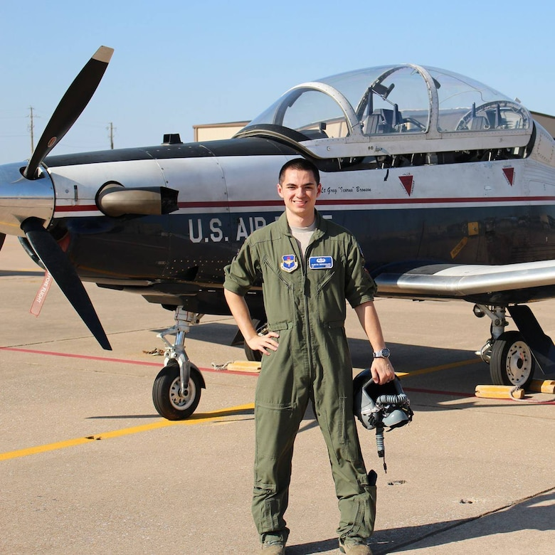 Photo of 1st Lt. Curtis Berenguer at a previous assignment. (Courtesy photo)
