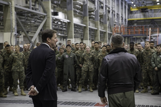 US Ambassador to Japan makes first visit to MCAS Iwakuni, Iwakuni City