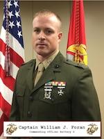 Commanding Officer, Delta Battery, 2nd Battalion, 14th Marine Regiment