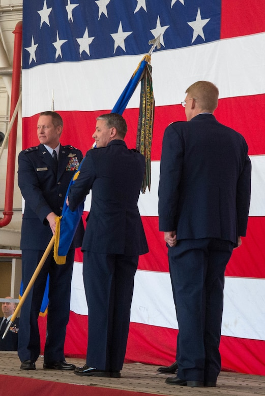 136 AW Change of Command