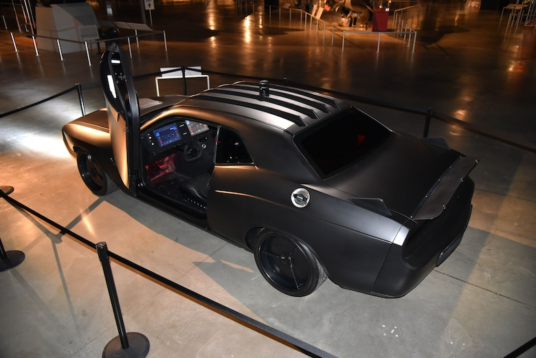 DAYTON, Ohio -- The Air Force's customized Vapor Special Ops Supercar on display in the museum's third building. (U.S. Air Force photo)