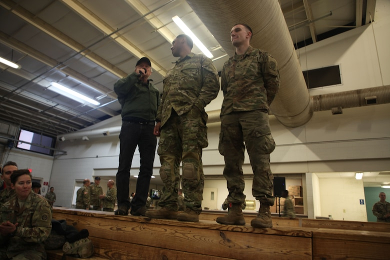 First Soldier selected to jump in Operation Toy Drop