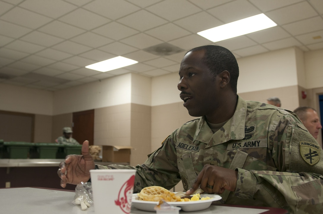Food services provides sustainment for Operation Toy Drop