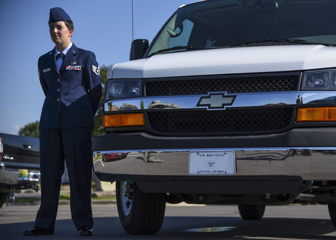 Staff Sergeant Reanna Chafin, 117th Logistical Readiness Squadron tells us why she has the best job in the military.