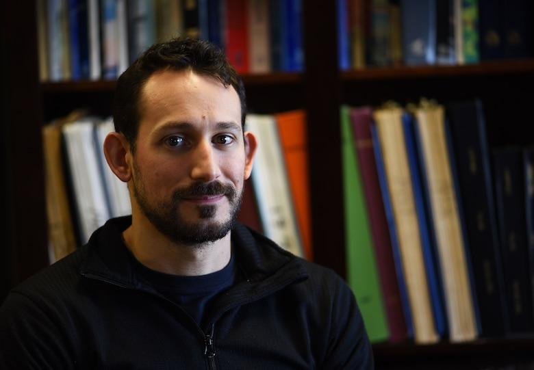 Justin Vergati, 22nd Air Refueling Wing historian