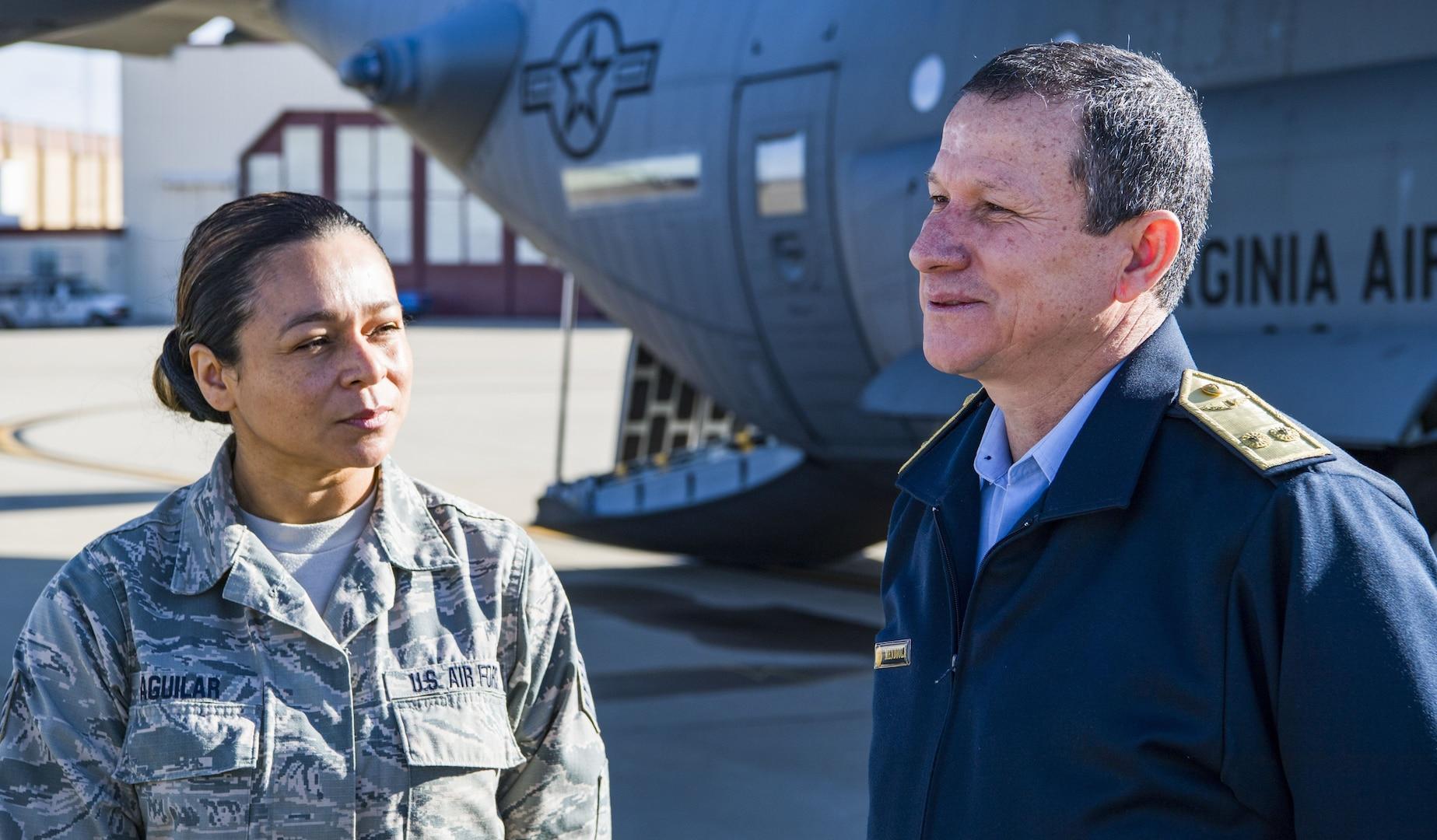 W. Va. Guard units share domestic response capabilities with Peruvian partners