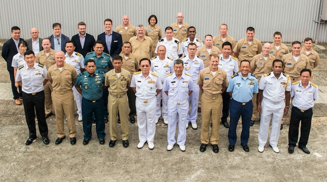 Regional naval leaders gather in Singapore to enhance security partnerships