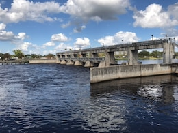 Water Releases at W.P. Franklin Lock and Dam near Fort Myers