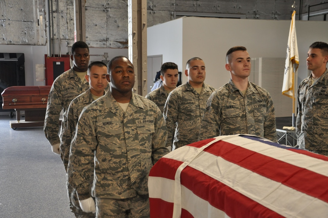 Wright-Patt Honor Guard among heaviest tasked in Air Force