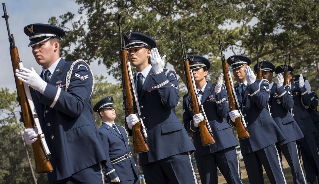 Honor Guard Graduation December 2017