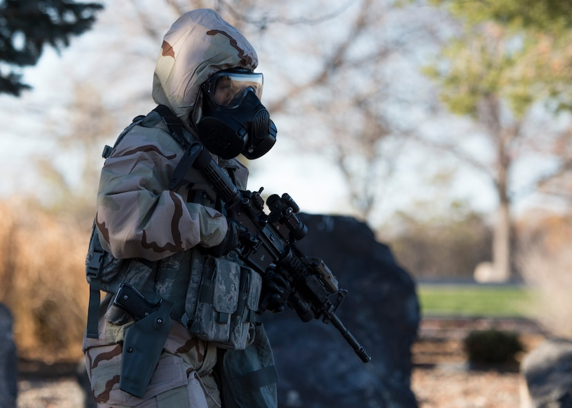 The base participated in a week-long exercise to train for potential real world contingencies.