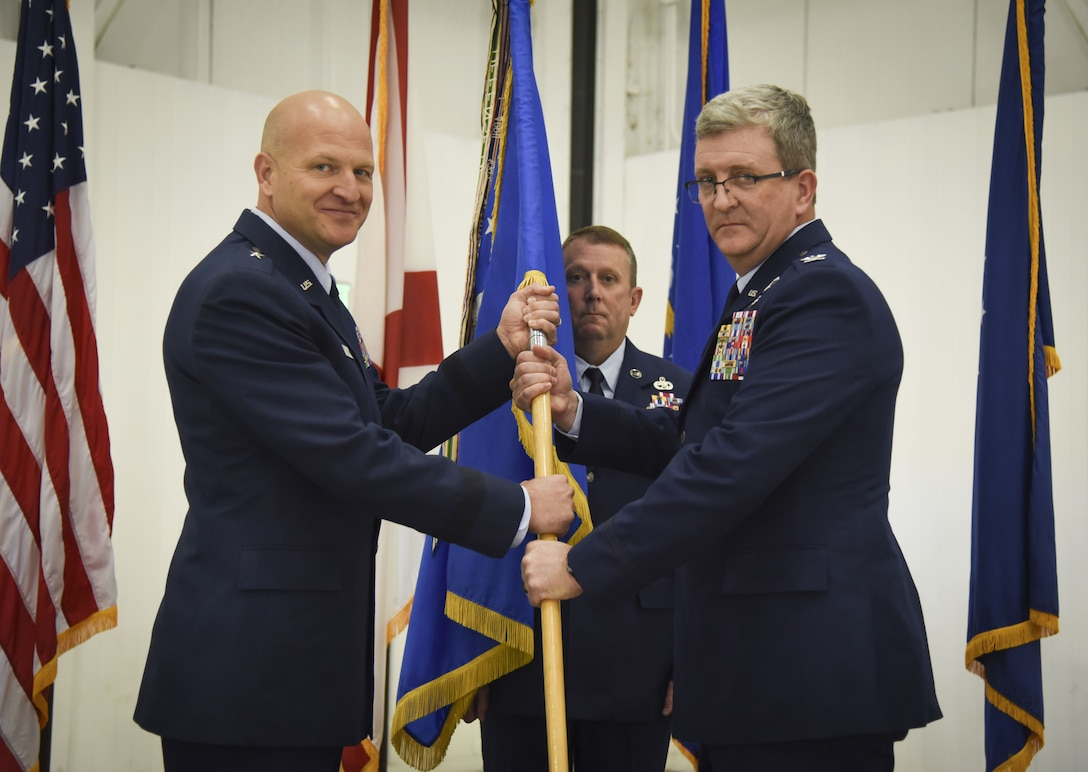 117TH AIR REFUELING WING CHANGE OF COMMAND