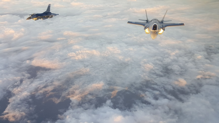 First Japanese-built F-35A sets off on its maiden voyage across the Pacific