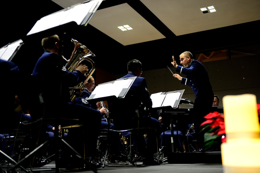 USAFE Band performs for Bitburg community