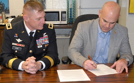 Army Reserve/UPS agreement