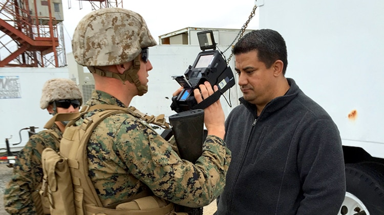 Marine Corps fields 'game changer' biometric data collection system