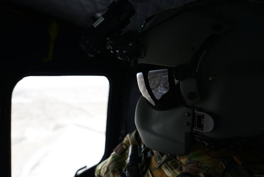 The exercise provided Akerson and other helicopter aviators the unique opportunity to work with both the United Kingdom's Royal Air Force Joint Terminal Attack Controllers and Ellsworth B-1 bomber aircrews.