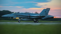 Marine Fighter Attack Squadron 312 conduct night operations aboard Marine Corps Air Station Beaufort, July 20.   The squadrons of Marine Aircraft Group 31 conduct day and night operations to maintain operational readiness 365 days a year.