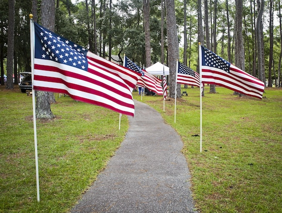 The Beaufort Regional Chamber of Commerce hosted Military Appreciation Day aboard Laurel Bay Housing, Aug. 26. The event was held to thanks all of the active duty and retired veterans in the Tri-command area. During the event, service members and their families could visit sponsored booths, play games, and enjoy free food.