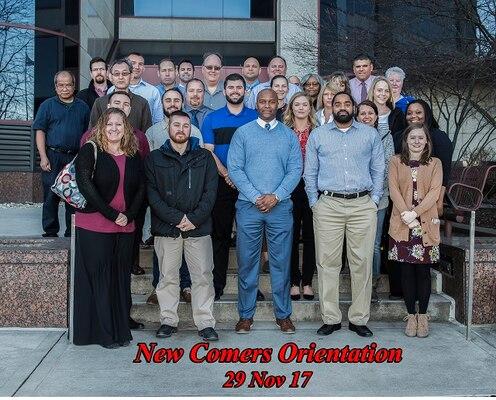 New Employee Orientation at DSCC