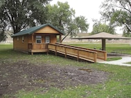 Cabins are available for rent at several campgrounds within a day's drive of Fort Riley. Some cabins have electricity and water while others are primitive.