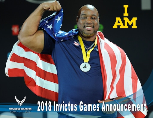 The 2018 Invictus Games application process will begin in January and will close out on March 1st. (U.S. Air Force Photo/Shawn Sprayberry)