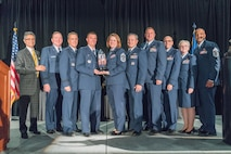 During the 19th annual Raincross Awards dinner in Riverside, Calif., the 916th ARW was honored with the 2017 Raincross Trophy. This award recognizes the 916th ARW for their outstanding accomplishments and celebrates the wing as the best wing in Fourth Air Force.