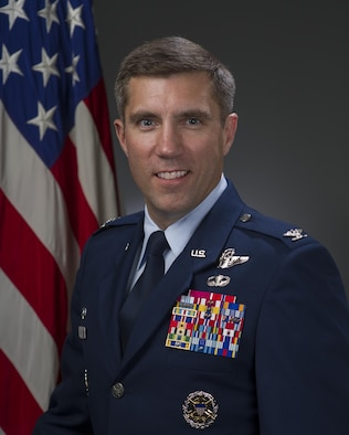 Col. John Klein, official photo, U.S. Air Force