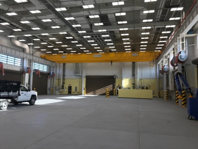 Far East District moves into vehicle maintenance facility: signifies first step of district's relocation
